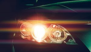 Halogen headlight bulbs.