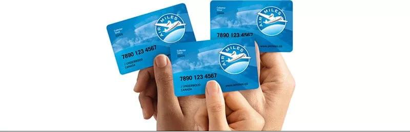 Air Miles Membership Cards